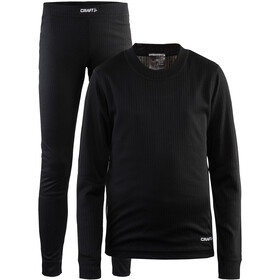 Craft Baselayer Set Lapset, black